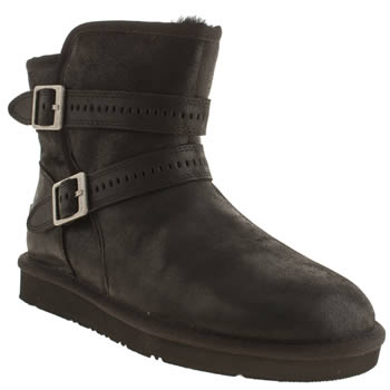 Womens Ugg Australia Black Aiden Boots