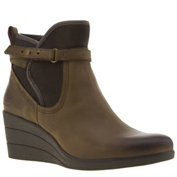 Womens Ugg Australia Brown Emalie Boots
