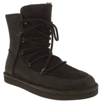 Ugg Australia Black Lodge Boots