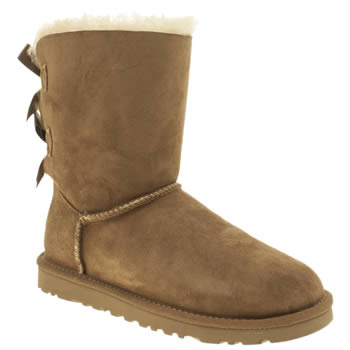 Ugg Australia Tan Bailey Bow Boots
