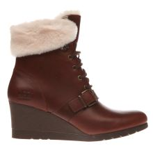 Ugg Brown Janney Womens Boots