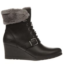 Ugg Black Janney Womens Boots