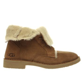 Ugg Australia Tan Quincy Womens Boots