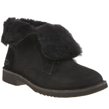 Ugg Australia Black Quincy Womens Boots