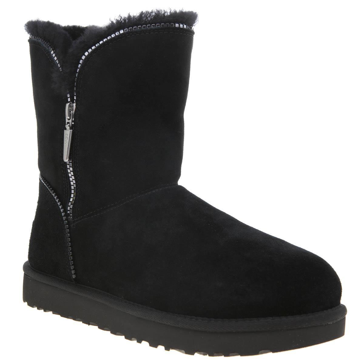 ugg black florence boots