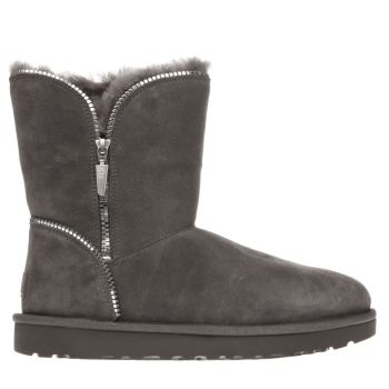 Ugg Australia Grey Florence Womens Boots