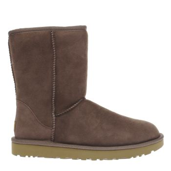 UGG STORMY GREY CLASSIC SHORT II BOOTS