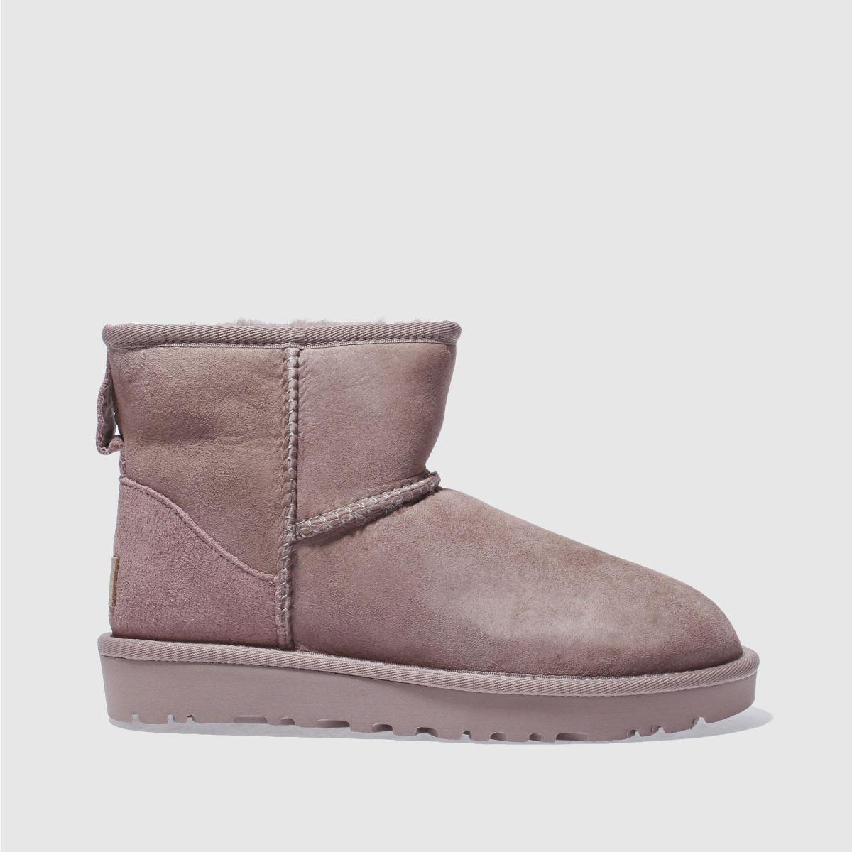 Ugg Mauve Pink Classic Mini Ii Boots