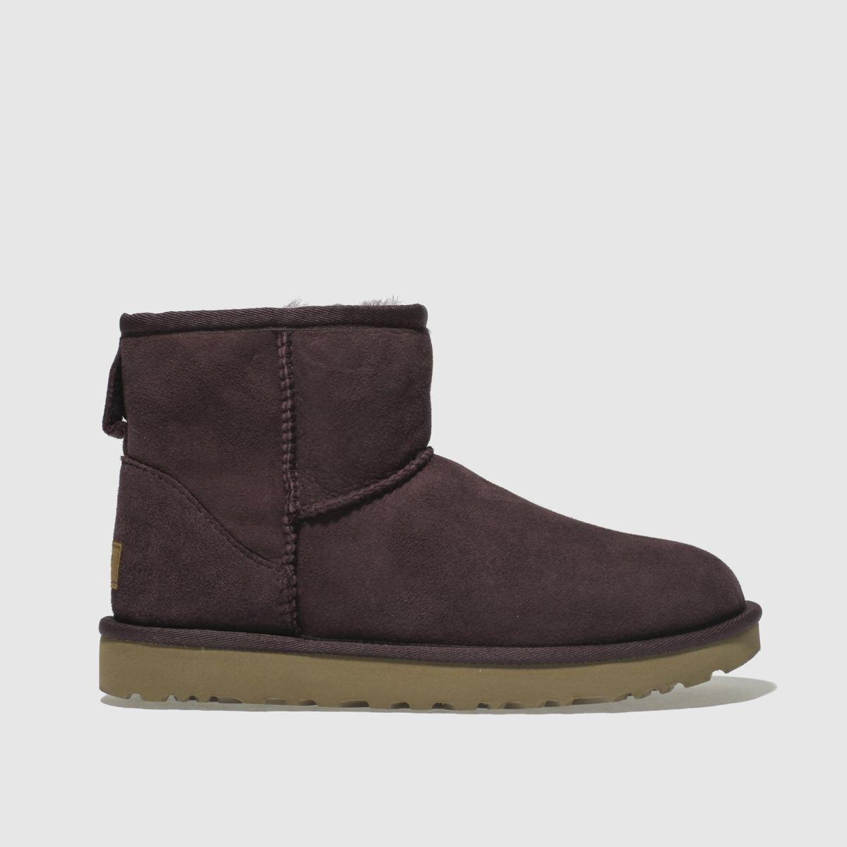 Ugg Purple Classic Mini Ii Boots