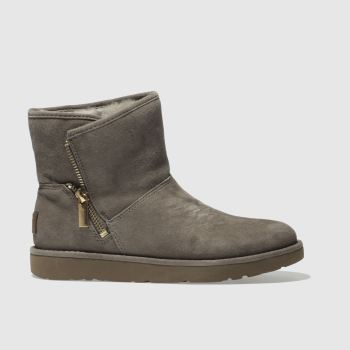 Ugg Grey Kip Womens Boots
