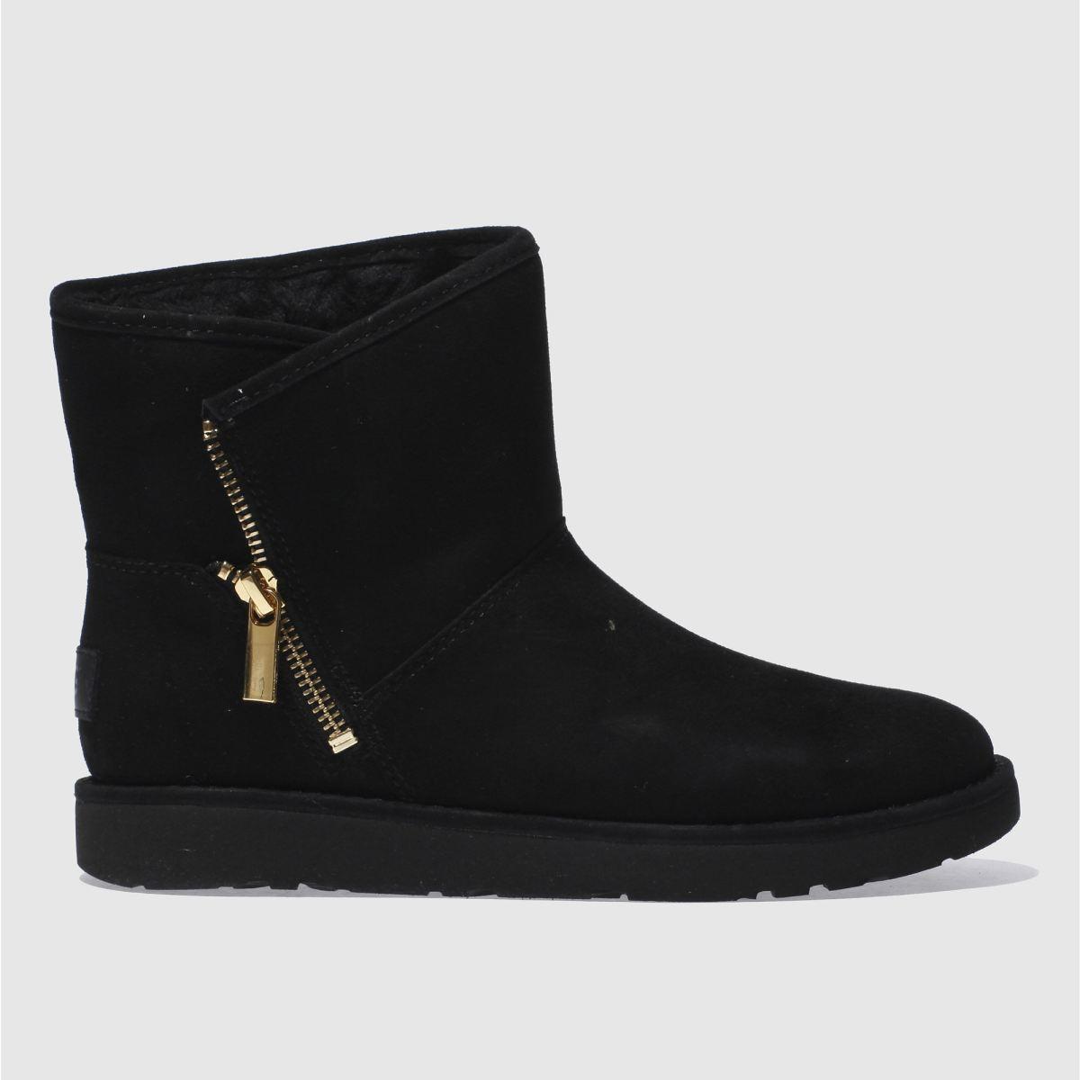 Ugg Black Kip Boots