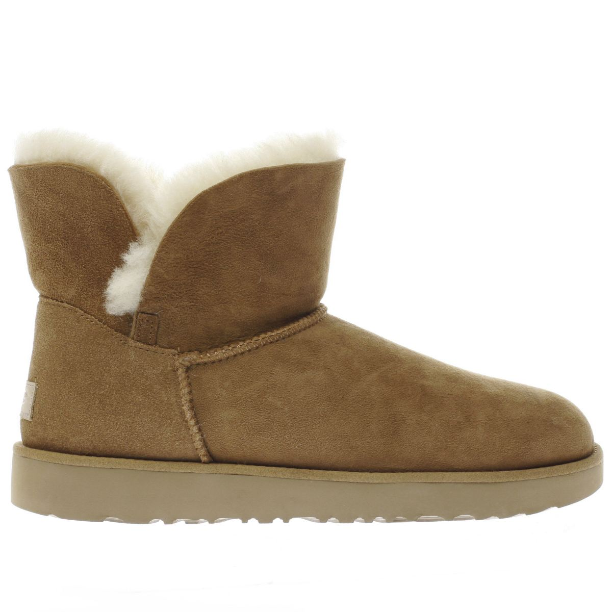 ugg tan classic cuff mini boots