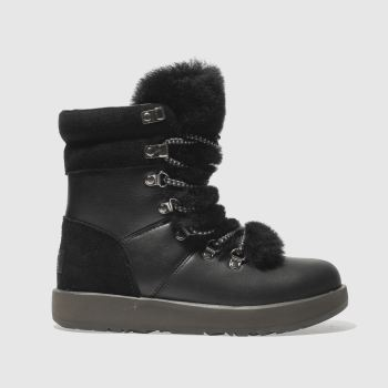 Ugg Black Viki Waterproof Womens Boots