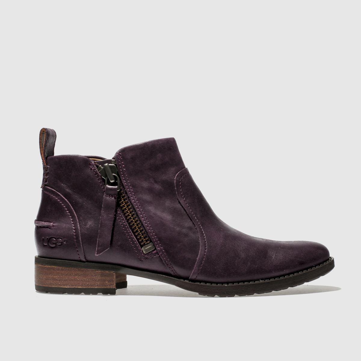 Ugg Purple Aureo Boots