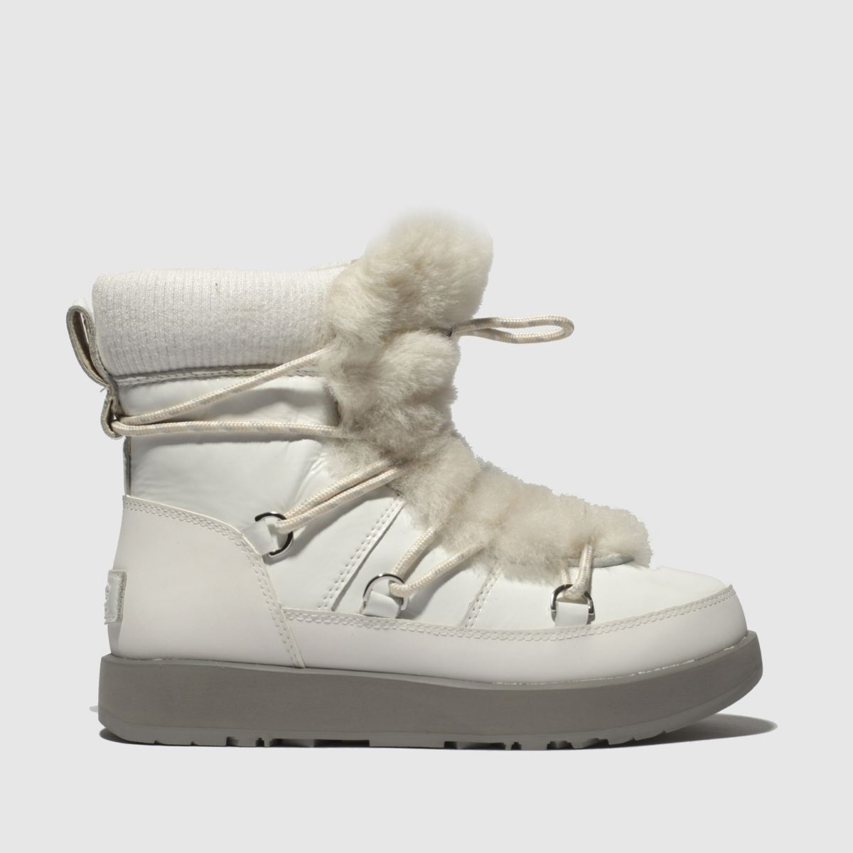 Ugg White Highland Waterproof Boots