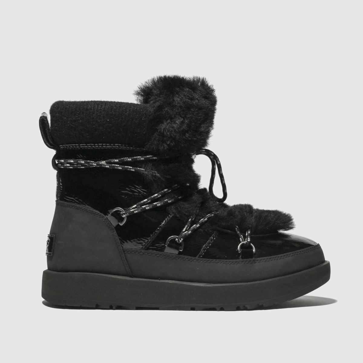 Ugg Black Highland Waterproof Boots