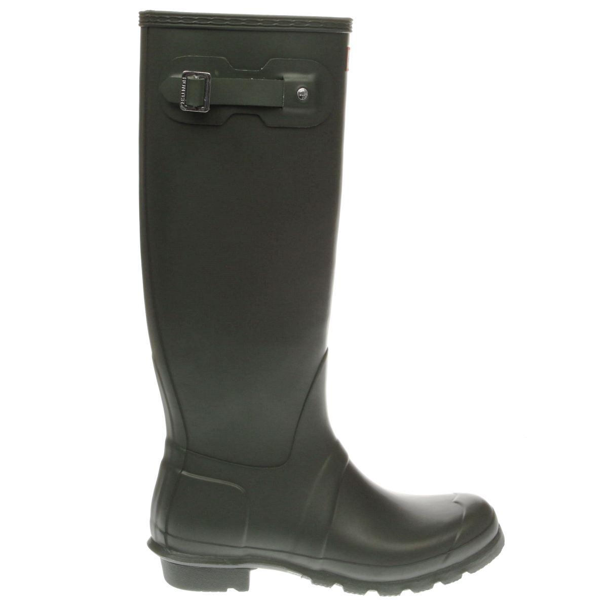 hunter khaki original tall boots