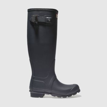 Hunter Navy Original Tall Womens Boots