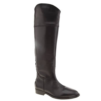 Womens Schuh Black Gallop Boots