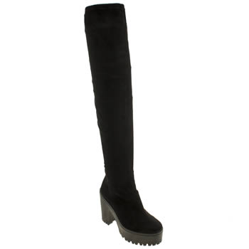 Womens Schuh Black Proposition Boots