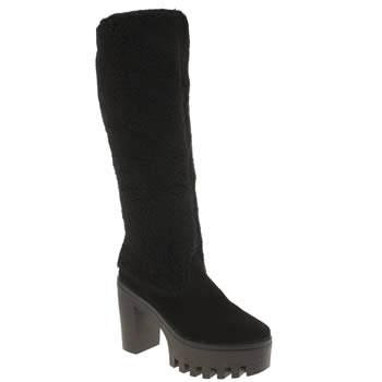 Schuh Black Sleuth Boots