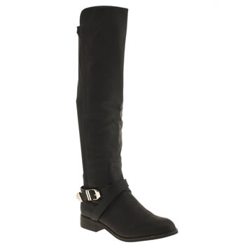 Womens Schuh Black Stampede Boots