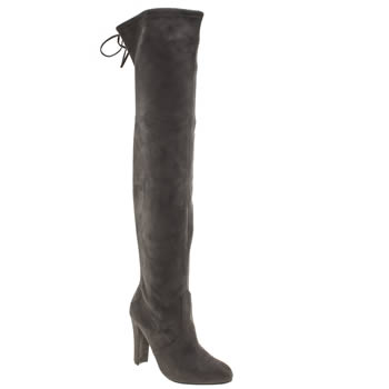 Schuh Grey Misty Boots