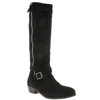 Schuh Black Astral Boots