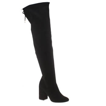 Schuh Black Call Me Womens Boots