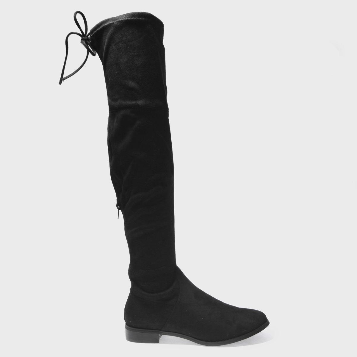 Schuh Black Runner Boots