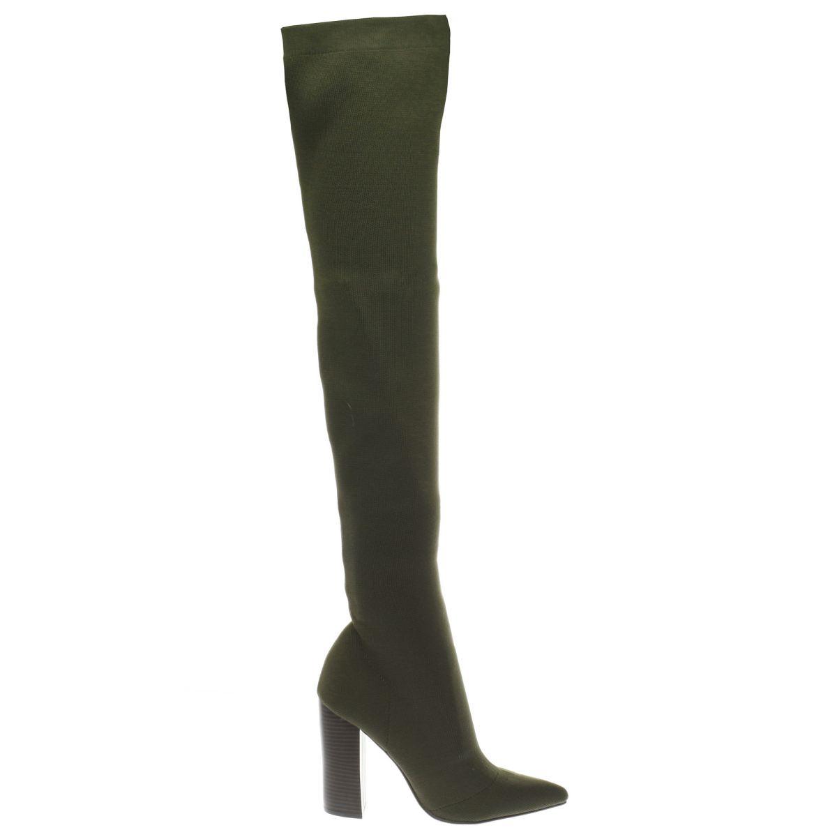 schuh khaki flex boots