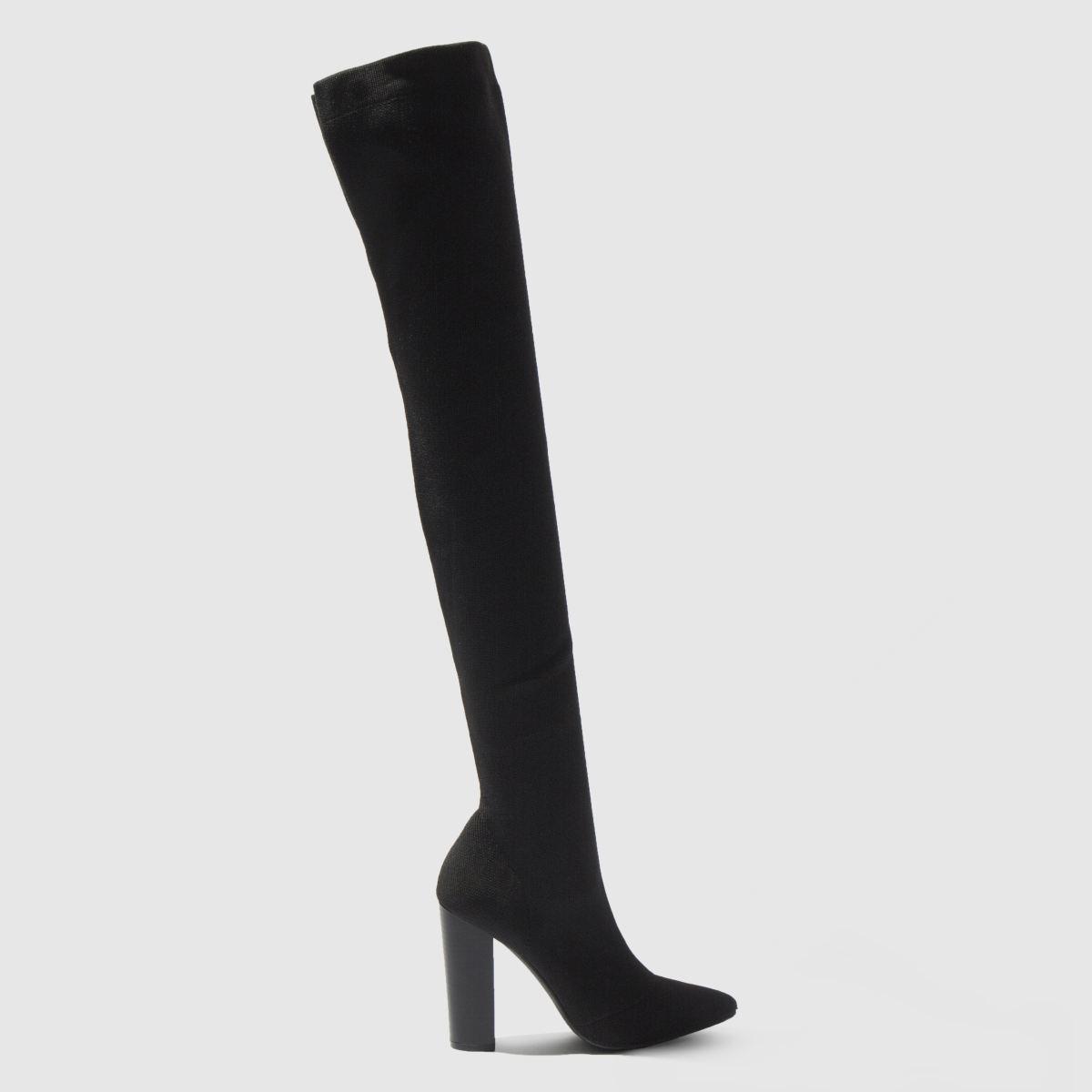 Schuh Black Flex Boots