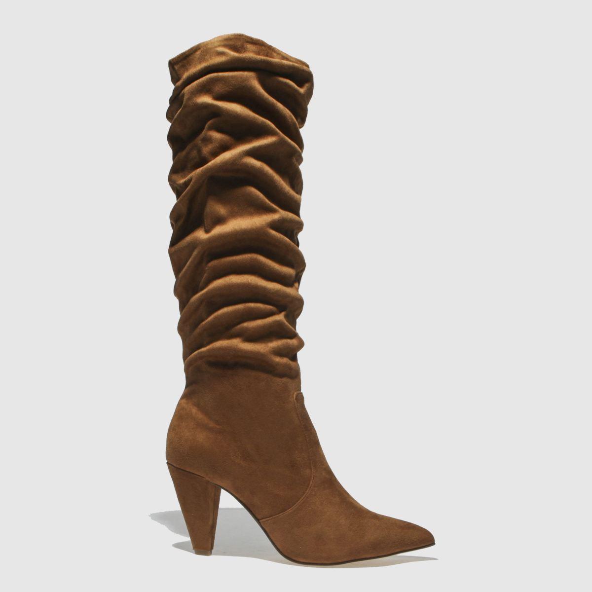 Schuh Tan Sister Boots