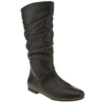 womens schuh black wonder why boots