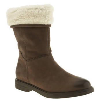 Womens Schuh Brown Whirlwind Boots