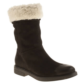 Womens Schuh Black Whirlwind Boots