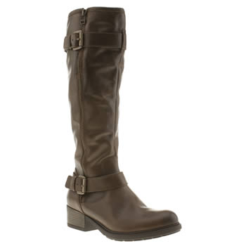 Womens Schuh Brown Fast Forward Boots