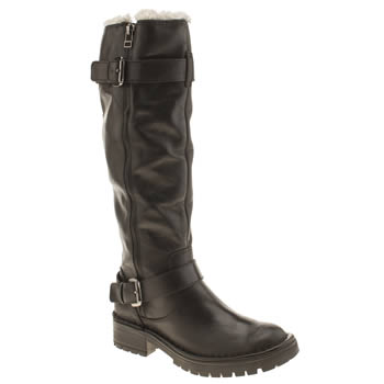 Schuh Black Fast Lane Boots