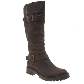 Schuh Brown Pogo Womens Boots