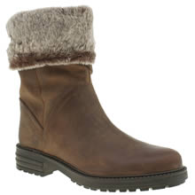 Schuh Tan Trick Womens Boots