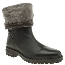 Schuh Black Trick Womens Boots