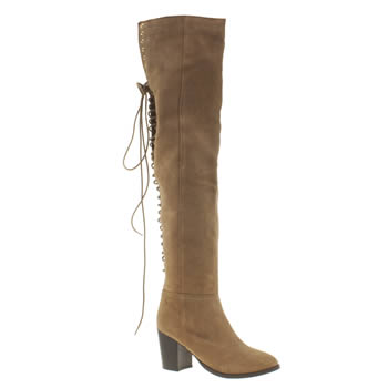 Schuh Tan Beesley Womens Boots