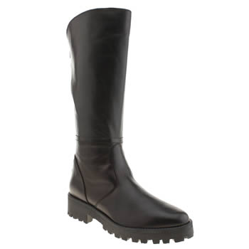 Womens Schuh Black Captain Boots