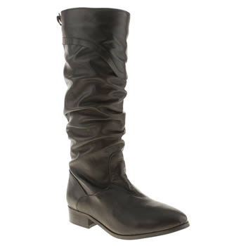 womens schuh black look out boots