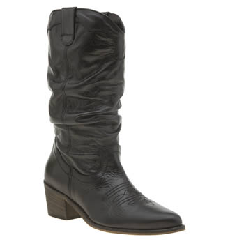 Schuh Black Road Runner Womens Boots