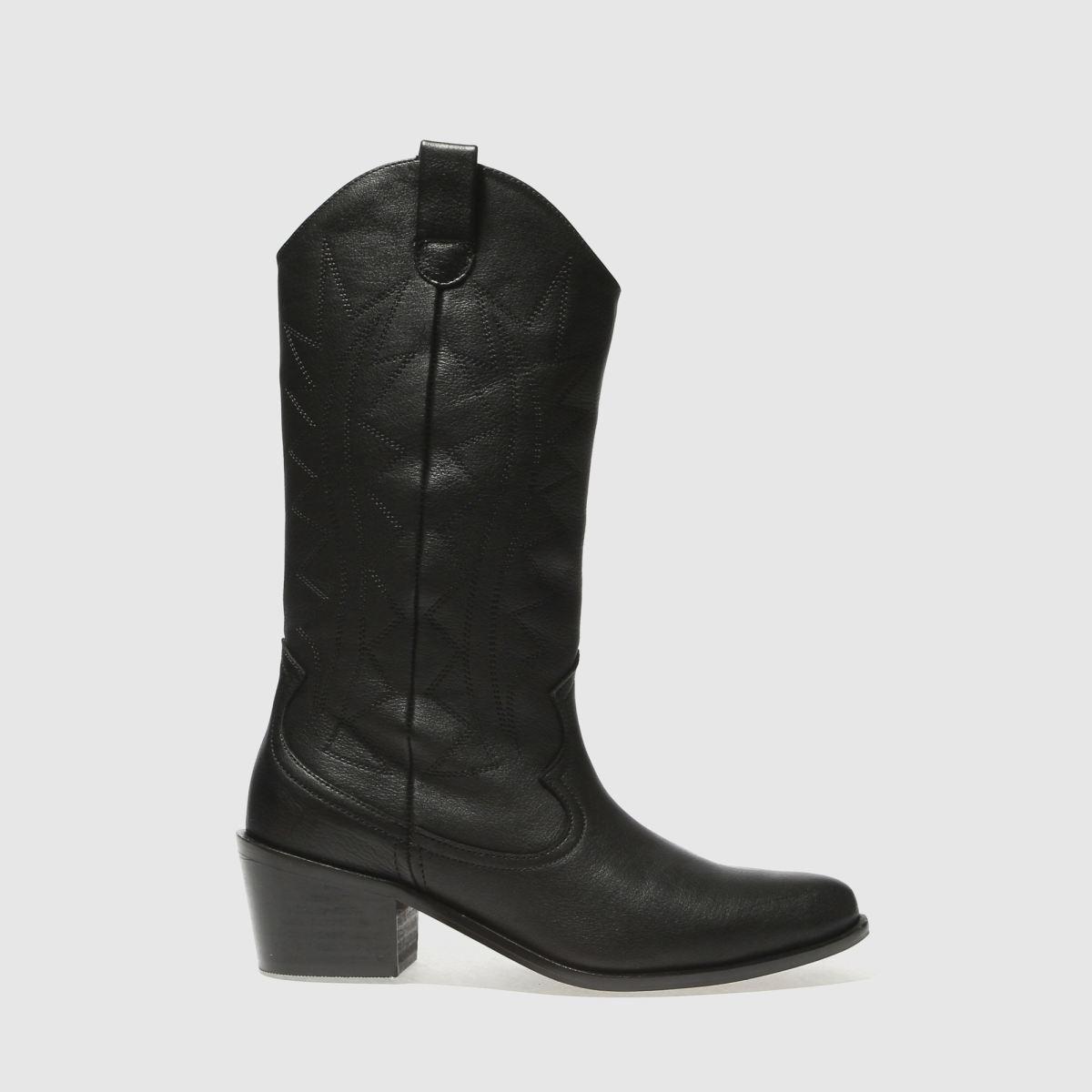 Schuh Black Ranchero Boots