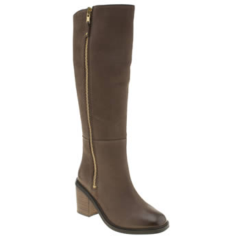Womens Schuh Dark Brown Meteor Boots