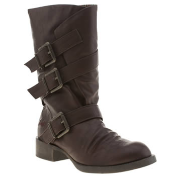 Womens Blowfish Burgundy Kasbah Boots