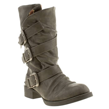 womens blowfish grey kasbah boots