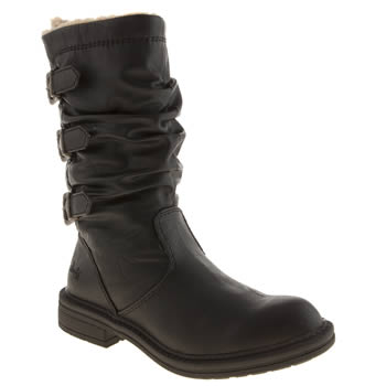 Womens Blowfish Black Falta Boots